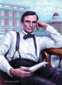 Award Winning Portrait Of Lincoln Print, Available